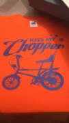 Kiss My Chopper T-Shirt (Orange)
